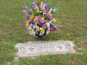 Carolyn's gravesite