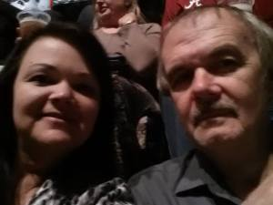 Me and my Daddy, Carey Yates taken at concert